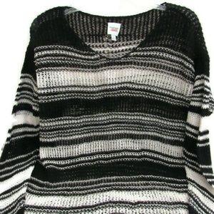 VTG Emanuel Ungaro Liberte Open Knit Sweater L